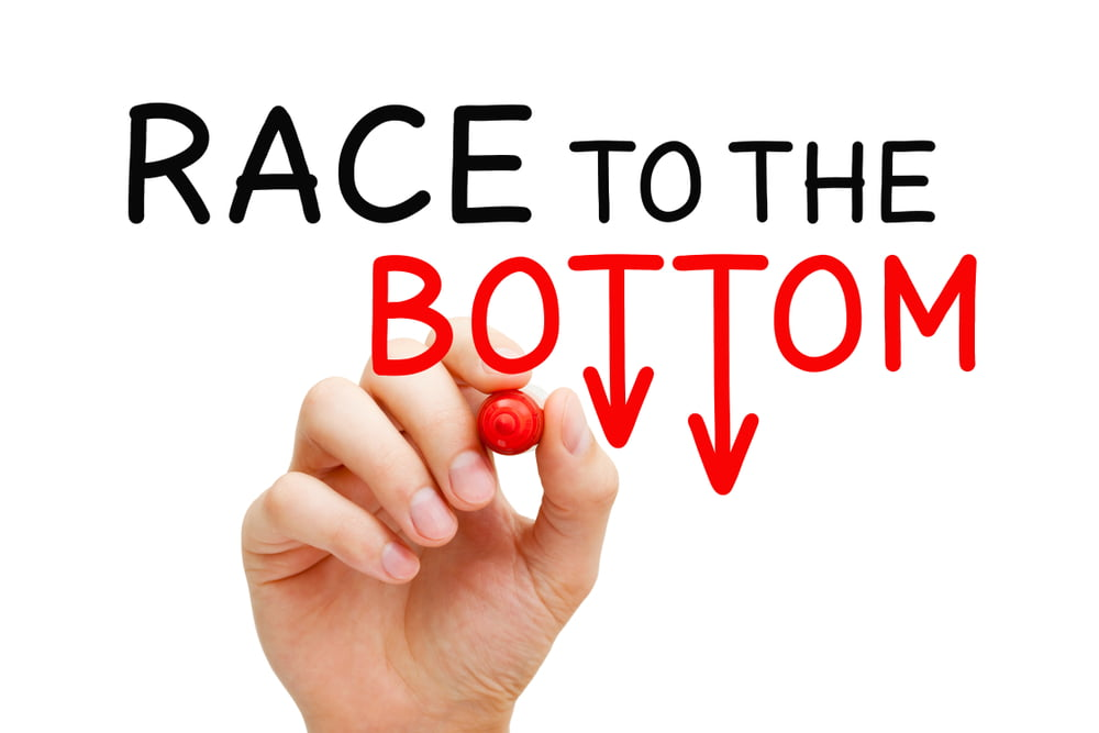 Race to the bottom - will this happen as a result of price transparency?