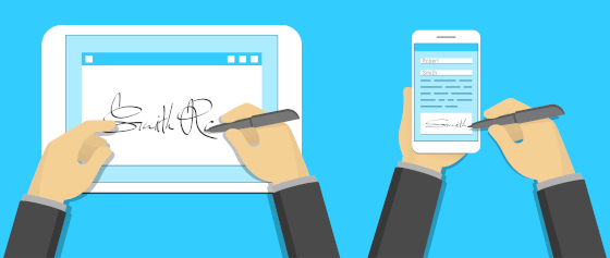 Electronic signatures – without leaving your email
